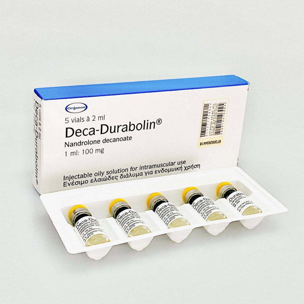 Deca-Durabolin (nandrolone decanoate) 2ml/vial (100mg/1ml)