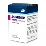 Dostinex (Cabergoline) - 2 tabs x 0.5mg