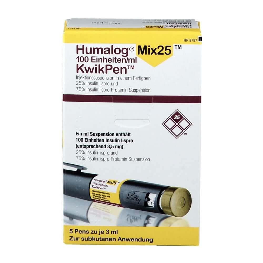 Humalog Mix25 (INSULIN) - 1500 IU