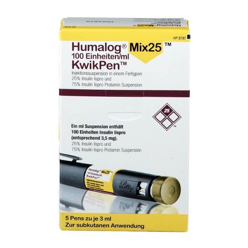 Humalog Mix25 (INSULIN) - 1500 IU