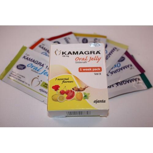 Kamagra Oral Jelly (Sildenafil) - 100mg/vial