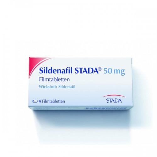 Sildenafil STADA - 4 tabs (50mg/tab)