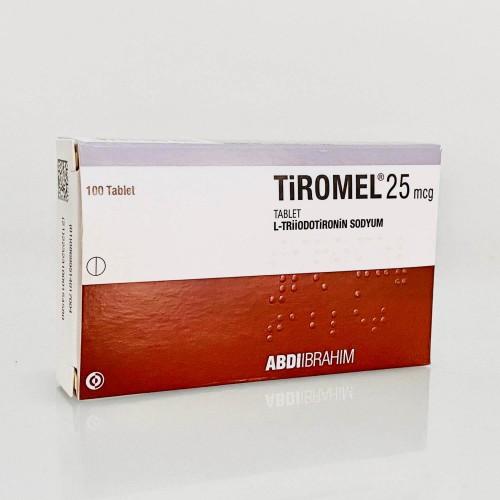 T3 Cytomel (Liothyronine Sodium) - 100 tabs (25mcg/tab)