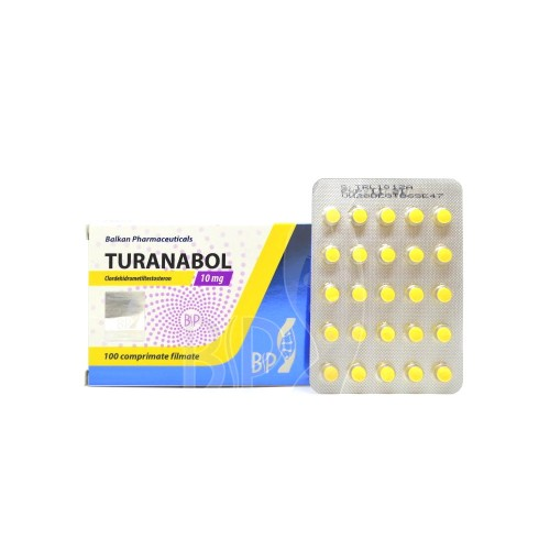 Turanabol (Chlorodehydromethyltestosterone) - 100 tabl. (10mg/tabl)