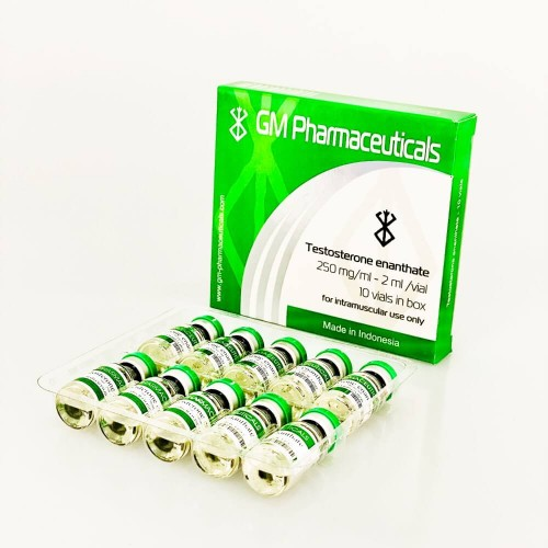 Testosterone Enanthate 2ml/vial (250mg/1ml)