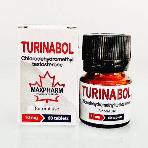 Turinabol - 60tabs x 10mg