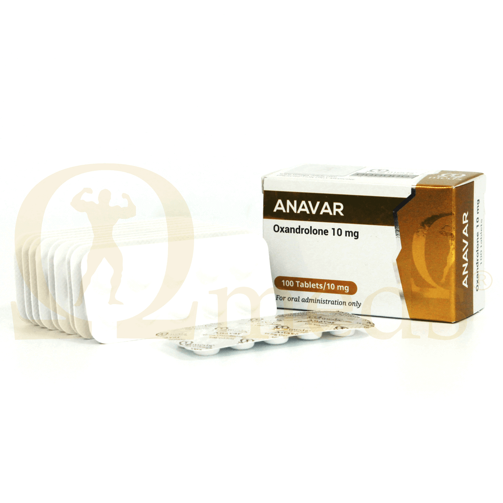 Anavar 10 (Oxandrolone)  - 100tabs (10mg/tab)