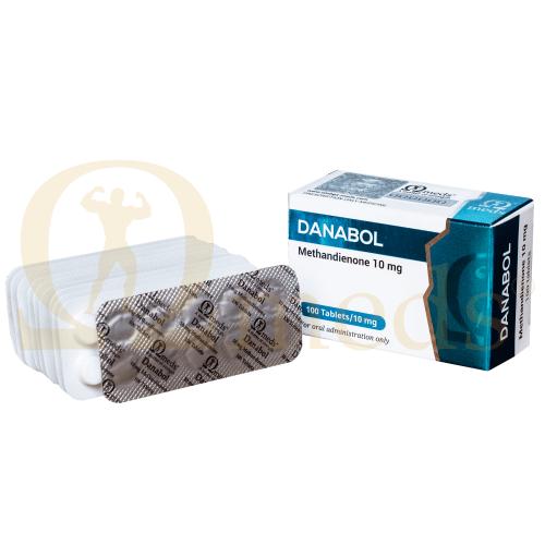Danabol 10 (Methandienone) - 100tabs (10mg/tab)