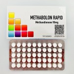 Methabolon Rapid (Methandienone) - 50tabs x 10mg
