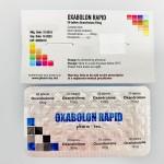 Oxabolon Rapid (Oxandrolone) -  50 tabl (10mg/tabl)